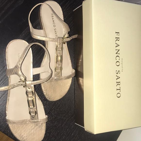 70615556803c NWT Franco Sarto Gifted Antico Sandals